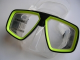maska Technisub Look Black/Lime