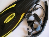 SET Cressi PALAU BLACK 41/44 - M/L