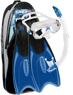 Cressi SET PALAU BAG BLUE