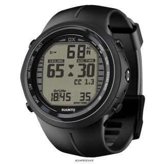 Suunto DX Black Elastomer USB